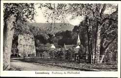 Postcard Luxemburg, Vue générale du Faubourg du Pfaffenthal