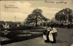 Postcard Glasgow Schottland, General view of the Botanic gardens