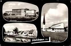 Postcard Heilsbronn im Kreis Ansbach Mittelfranken, Altersheim, Breslauer Straße