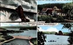 Postcard Breitenbruch Arnsberg im Hochsauerlandkreis, Altes Gasthaus Spindeldreher