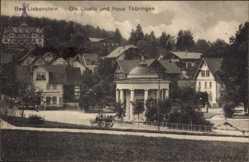 Postcard Bad Liebenstein im Wartburgkreis, Quelle und Haus Thüringen