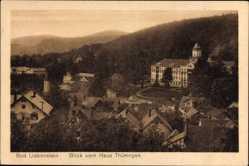 Postcard Bad Liebenstein im Wartburgkreis, Blick vom Haus Thüringen