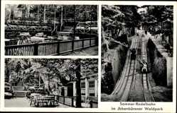 Postcard Ibbenbüren im Tecklenburger Land, Sommerrodelbahn im Waldpark