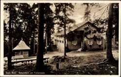 Postcard Falkenstein im Bayrischen Wald, Schutzhaus am Falkenstein