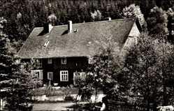Postcard Zinse Erndtebrück in Westfalen, Pension Forsthaus