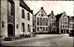 Postcard Warendorf in Nordrhein Westfalen, Blick auf den Marktplatz