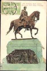 Postcard Budapest Ungarn, Graf Gyula Andrássy Szobra, Monument
