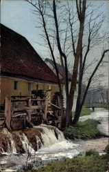 Postcard Nenke und Ostermaier Serie, Nr 1891, Partie an einer Wassermühle