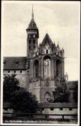 Ak Malbork Marienburg Westpreußen, Kirche mit Muttergottesbild