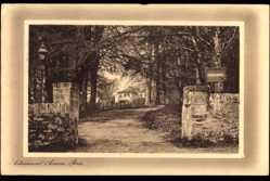 Postcard Row Schottland, Ardenconnel Avenue, Auffahrt zu einem Haus