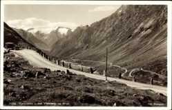 Postcard Hjelledalen Norwegen, Mot Videsaeter og Stryn, Talblick, Gebirge