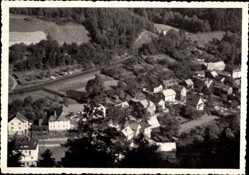 Postcard Sitzendorf an der Schwarza in Thüringen, Blick vom Annafels Unterer Ort