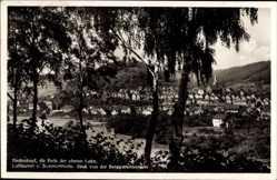 Postcard Biedenkopf an der Lahn, Blick von der Berggartenwiese auf den Ort