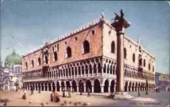 Künstler Ak Venezia Venedig Veneto, The Doges Palace