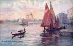 Künstler Ak Venezia Venedig Veneto, St. Maria della Salute, Tuck 7990