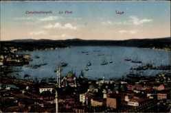 Postcard Konstantinopel Istanbul Türkei, Le Port, Blick in den Hafen