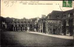 Postcard Cernay la Ville Yvelines, Abbaye de Vaux de Cernay, Rankenbewuchs