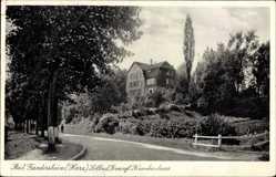 Postcard Bad Gandersheim in Niedersachsen, Solbad, evangelisches Krankenhaus