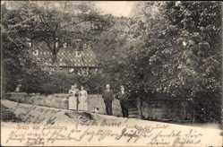 Postcard Liebenburg in Niedersachsen, Blick auf das Gasthaus zur Linde