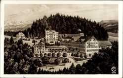 Künstler Ak Titisee Neustadt im Breisgau Hochschwarzwald, Kurhaus Friedenweiler
