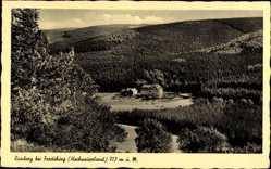Postcard Rimberg Fredeburg Hochsauerland, Blick auf Hotel, Wald, Berge