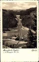 Postcard Mellenbach Glasbach im Schwarzatal, Oberweißbacher Bergbahn