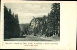 Postcard Tambach Dietharz im Thüringer Wald, Dietharzer Grund, Großer Finsterbach
