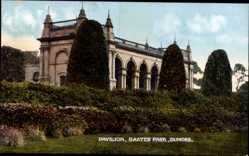 Postcard Dundee Schottland, Pavillon, Baxter Park, Grünanlagen, Gebäude