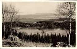 Postcard Trondhjem Trondheim Norwegen, Lianvannet, Seeblick
