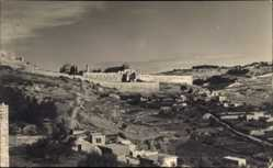 Foto Ak Jerusalem Israel, Souther City Wall of Caiaphas House
