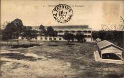 Postcard Thudaumont Vietnam, Caserne de Vassoigue