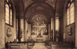 Postcard Bühl im Landkreis Karlsruhe Baden Württemberg, Friedhofkapelle, Inneres