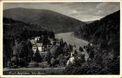 Postcard Bad Bergzabern im Kreis Südliche Weinstraße, Villa Karcher, Berge, Wald
