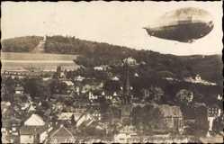 Foto Ak Gummersbach im Oberbergischen Kreis, Luftschiff Graf Zeppelin