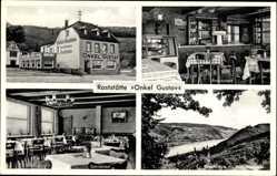 Postcard Bad Breisig im Kreis Ahrweiler Rheinland Pfalz, Raststätte Onkel Gustav