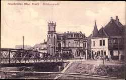 Postcard Neunkirchen im Siegerland Nordrhein Westfalen, Brückenstraße, Brücke