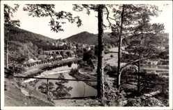 Postcard Ziegenrück am Schiefergebirge Thüringen, Blick von der Brauershöh