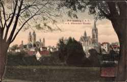 Postcard Bad Homburg vor der Höhe im Hochtaunuskreis, Oberurseler Chaussee