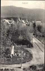 Postcard Tabarz im Thüringer Wald, Zimmerbergstraße, Spindlerdenkmal