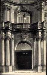 Postcard Mettlach im Kreis Merzig Wadern Saarland, Portal der ehemaligen Abtei