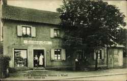 Postcard Heerren Kamen im Ruhrgebiet Kreis Unna, Cafe Klostermann, Vorderansicht