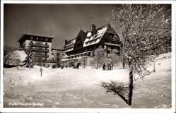 Postcard Feldberg im Schwarzwald Baden Württemberg. Hotel Feldberger Hof