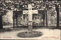 Postcard Bad Bentheim in Niedersachsen, Herrgott von Bentheim, altes Kreuzbild