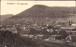 Postcard Neustadt an der Weinstraße, Stadtpanorama, Glockenturm, Berg