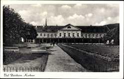 Postcard Bad Dürkheim am Pfälzerwald, Blick auf das Kurhaus, Gartenanlage