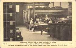 Ak Cie Franco Belge des Crayons, Triage des Mines, Mines de graphite