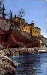 Ak Fischerhütten in der Preluka, Nenke und Ostermaier 73 1865