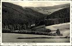 Postcard Bad Berleburg Nordrhein Westfalen, Melchäusertal