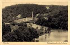 Postcard Mittweida in Sachsen, Elektrizitätswerk an der Zschopau