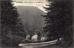 Postcard Tabarz im Thüringer Wald, Der Uebelberg im Lauchagrund